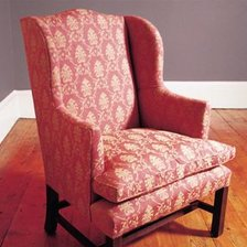 Chapman Wing Chair in Fabric