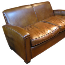 Two-Seater Deco in Leather