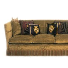 The Three-Seater Knole Sofa in Fabric