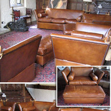 The Knole Sofa in Leather