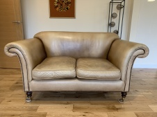Vintage 2-Seater Ibsen Sofa
