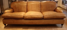 Vintage 3-Seater Lansdown Leather Sofa !