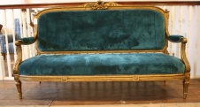 Continental Gilt Sofa