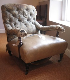 19th Century Study Chair