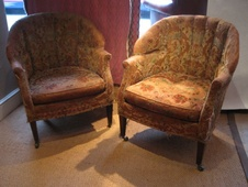 Original Edwardian Pair in Leather or Fabric?