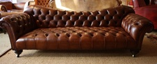 Early Victorian Sofa/Chaise