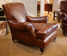 Late 19th Century Leather Arm Chair