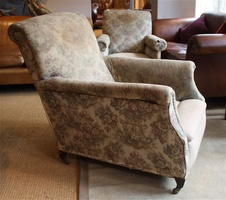 Bigger, Comfortable, Edwardian Armchair !