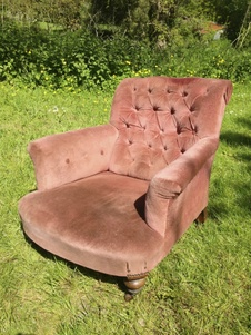 'Howard' style 19th Century Armchair