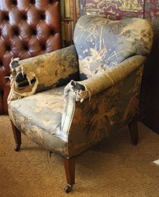 19th Century Elegant Armchair