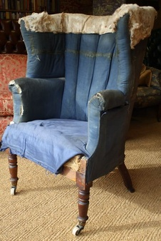 Early 19th Century Library Chair