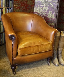 Late Victorian 'Tub' Chair
