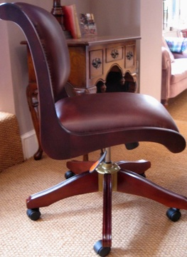 The Typist's Chair in Leather