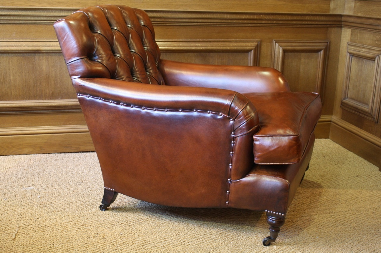 Oxford Study Chair  Leather Chairs of Bath  Antique and