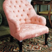 Spoonback Victorian Chair in Fabric