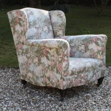 Edwardian Armchair for reupholstery .......