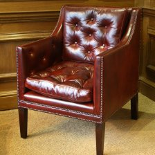 The Leather Nelson Chair