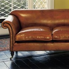 Two-Seater Ibsen Sofa in Leather