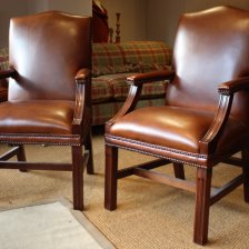 Leather Gainsborough Desk Chair
